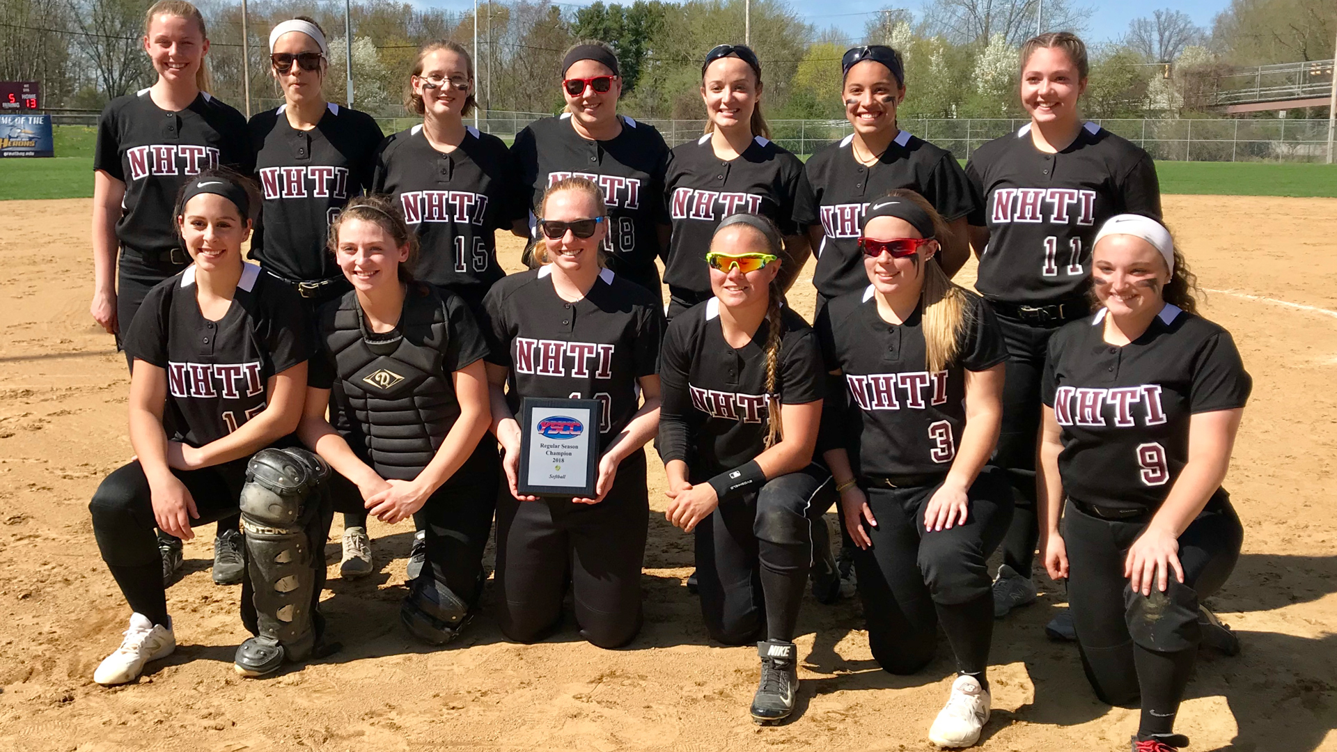NHTI wins back to back YSCC Championships in Softball