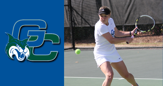 #16 GC Women Sweep Singles En Route to 8-1 Win at Lander