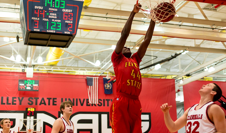 Ferris State Posts Decisive Road Victory In GLIAC Men's Basketball Action