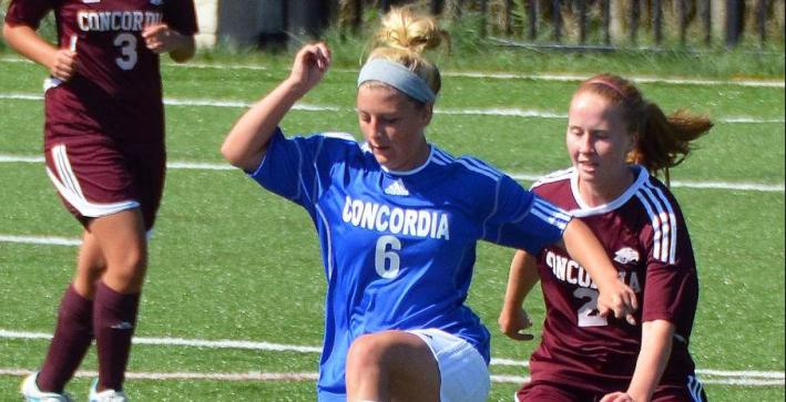 Klumpp's career day leads Women's Soccer past Dominican