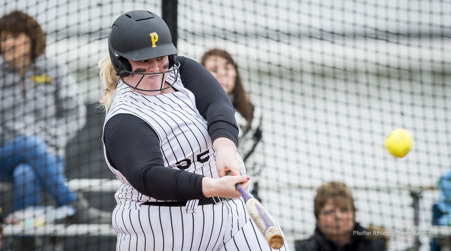 Falcon Softball Takes Doubleheader Wins Over Guilford