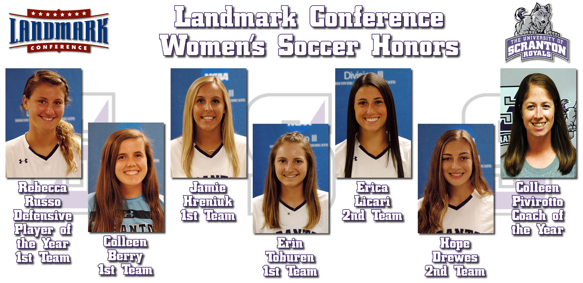 Russo, Pivirotto Highlight Women's Soccer's Seven All-Conference Selections