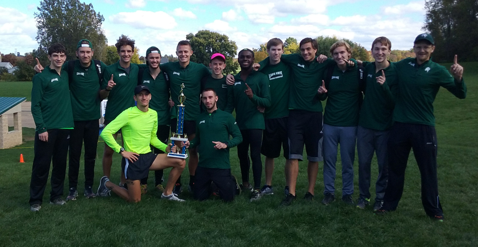 Men's Cross Country Wins Race in the Park
