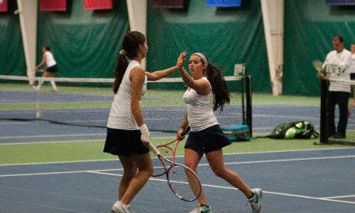 Women's Tennis Fall in GNAC Semis