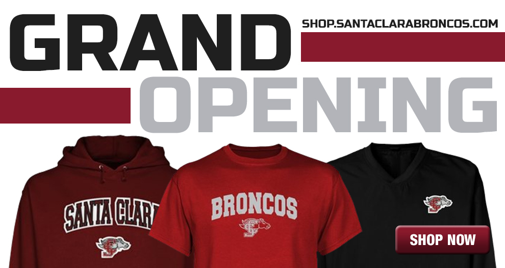 Santa Clara Broncos Relaunches Website; Features Include New Online Retail Store & Mobile App