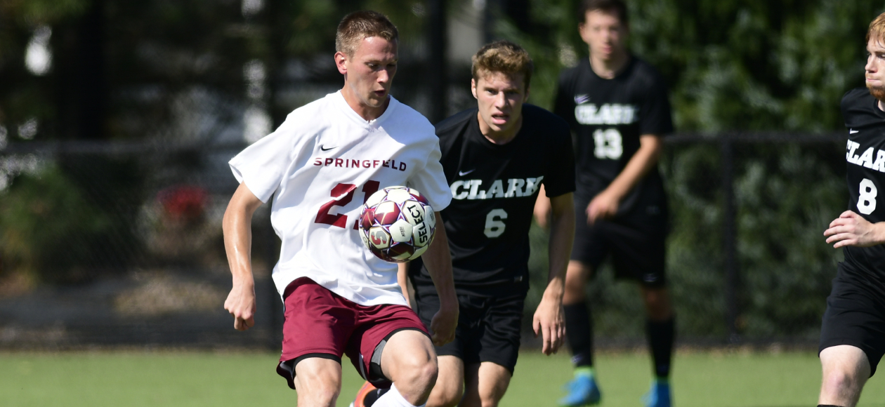 Men's Soccer Earns 2-0 Conference Victory Over Clark