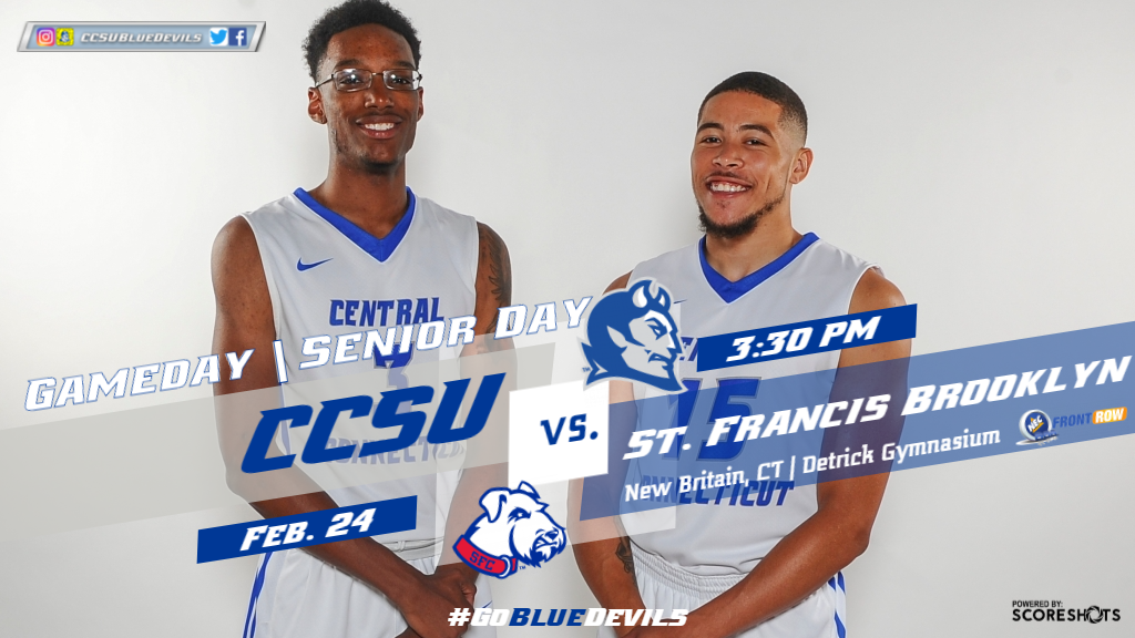 Men's Basketball Hosts St. Francis Brooklyn for Senior Day on Saturday