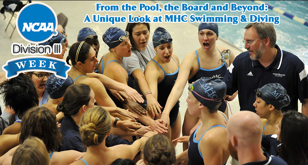 From the Pool, the Board and Beyond: Inside MHC Swimming & Diving