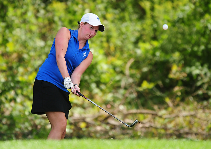 Saints sit fifth through day one of Bridgewater Fall Invitational