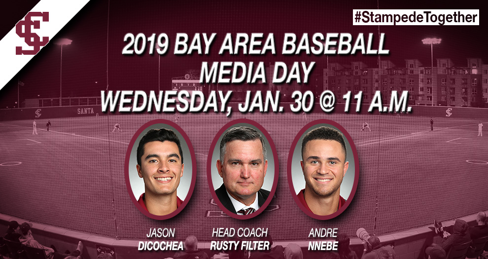 Broncos At The Annual Bay Area Baseball Media Day on Wednesday