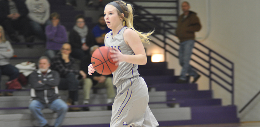 Hailey Ostrander scored 25 points and hit four three-pointers.