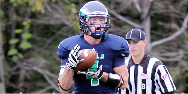 Endicott outlasts Western New England 50-45 in offensive slugfest