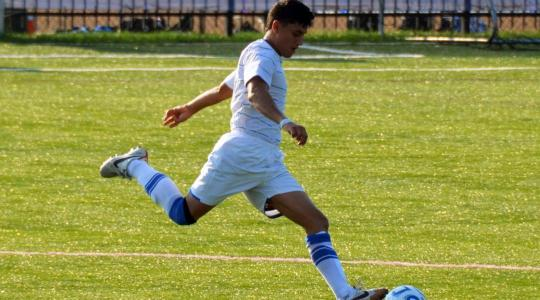 Falcon Men's Soccer falls 2-1 to Elmhurst