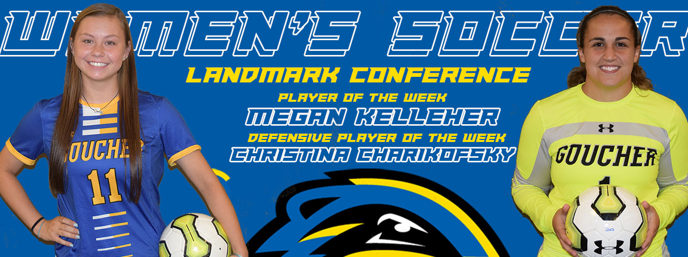 Kelleher And Charikofsky Sweep Landmark Conference Awards For Goucher Women's Soccer