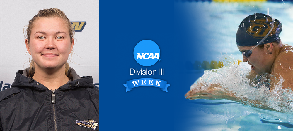 Division III Week Student-Athlete Spotlight: In My Own Words by Alexandra Polivanchuk