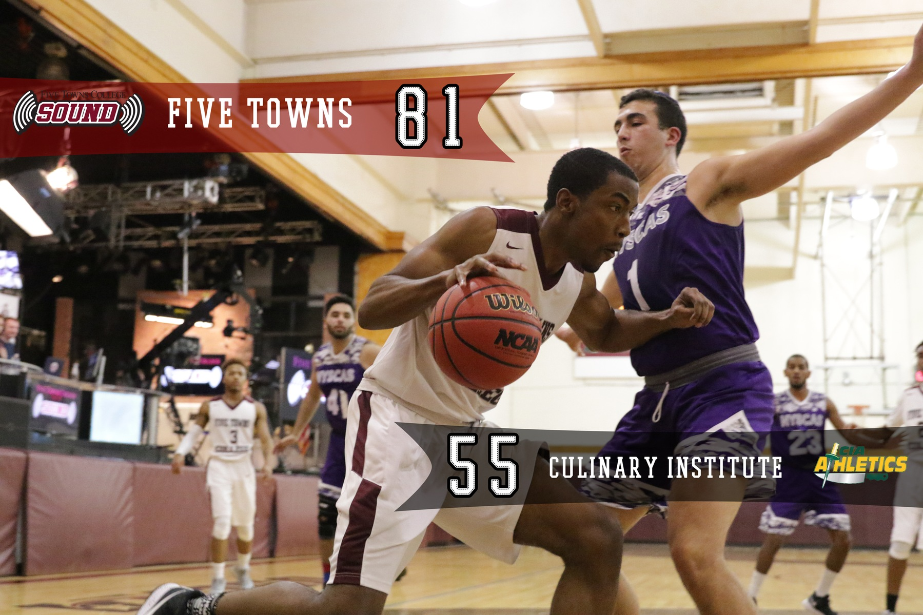 Men's Basketball Tops Culinary Institute