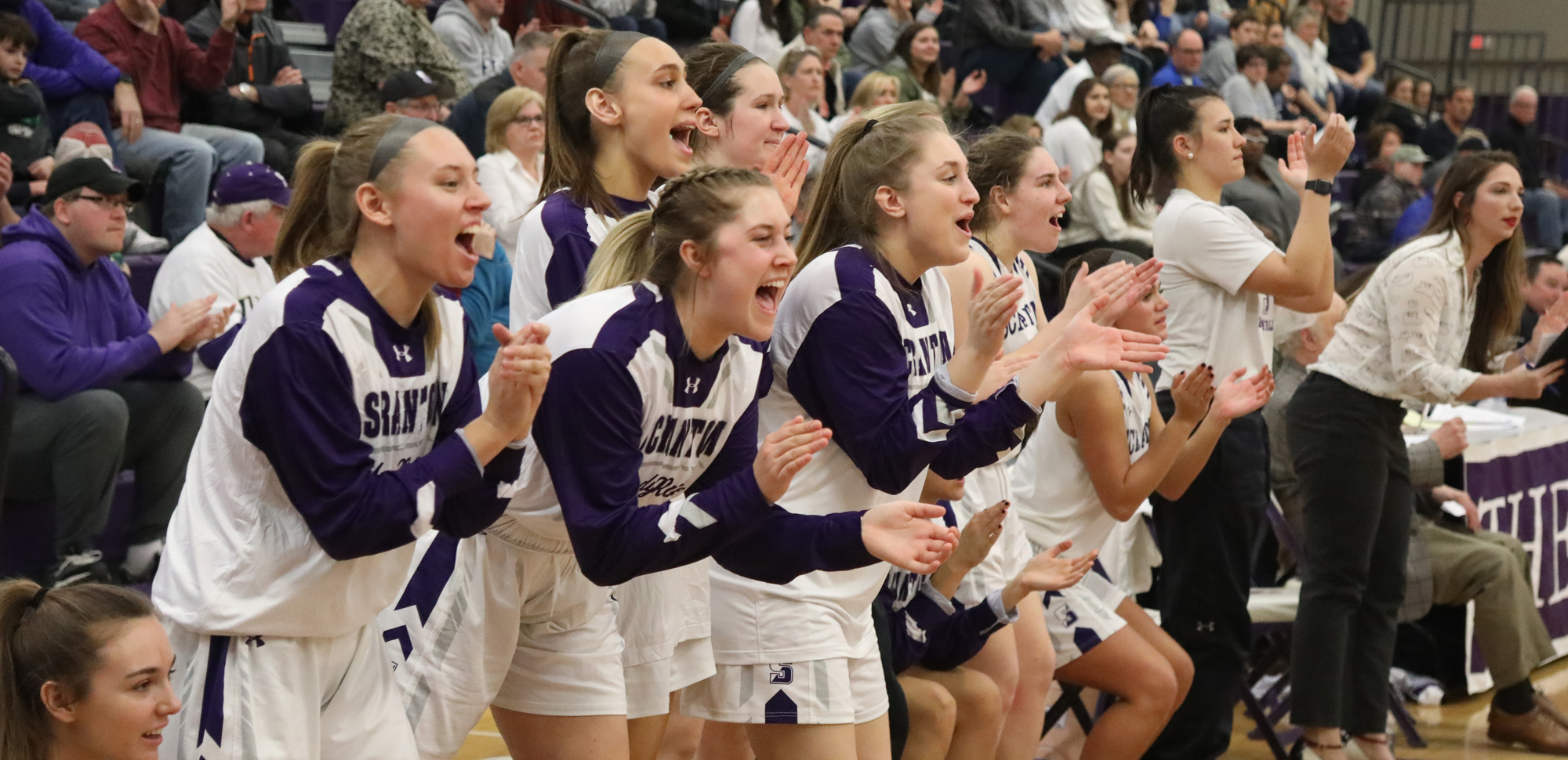 The University of Scranton women's basketball team will play in the NCAA Tournament for the 32nd time in program history, as the Lady Royals will host First and Second Round games in the Long Center beginning Friday. © Photo by Timothy R. Dougherty / doubleeaglephotography.com