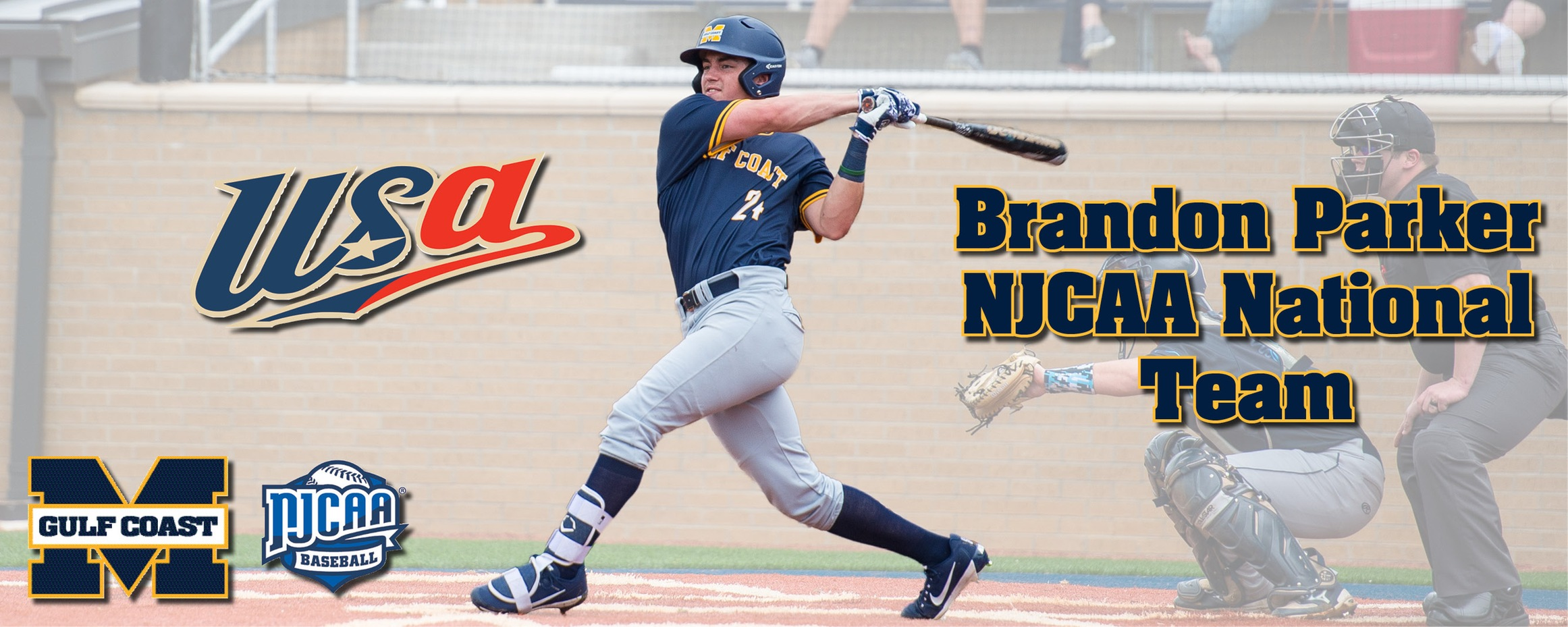 Parker named to NJCAA national team