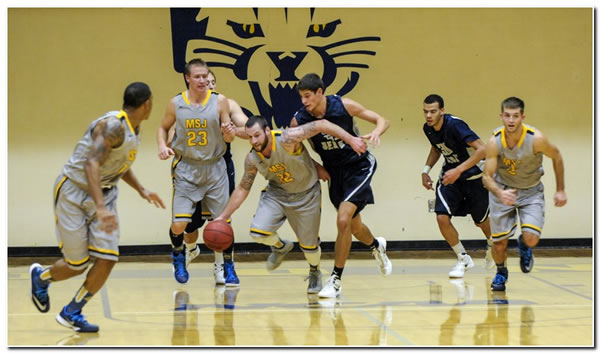 Mount men's basketball team claims a 96-79 home win over Anderson University