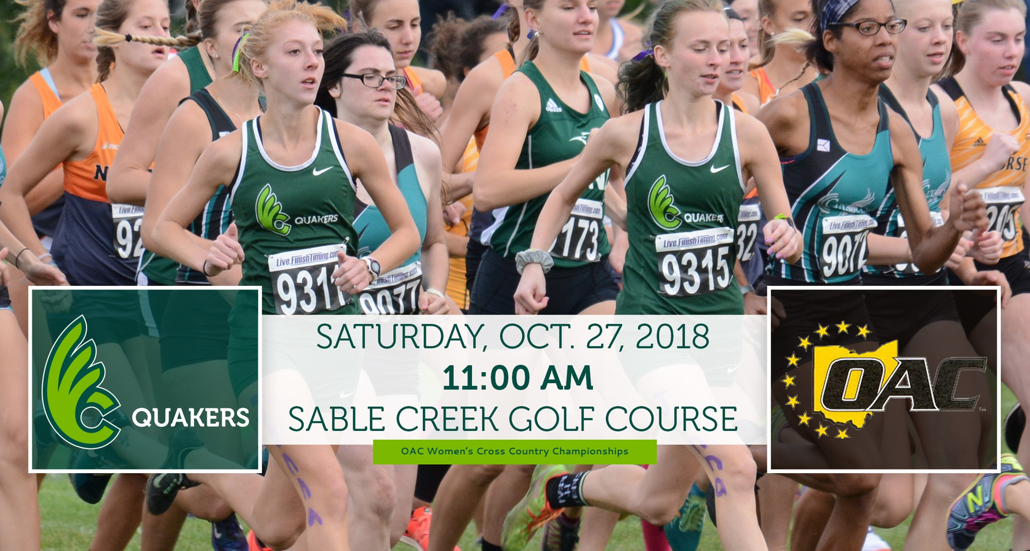 Women's Cross Country Heads to OAC Championships Saturday