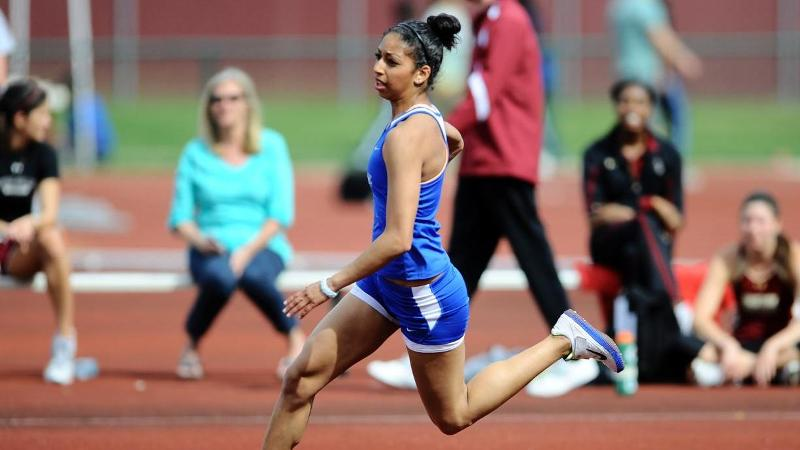 Saunders Tops High Jump Field Friday