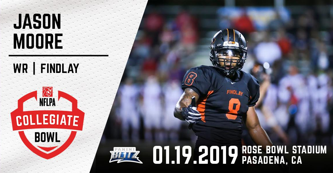 Moore Selected for NFLPA Collegiate Bowl