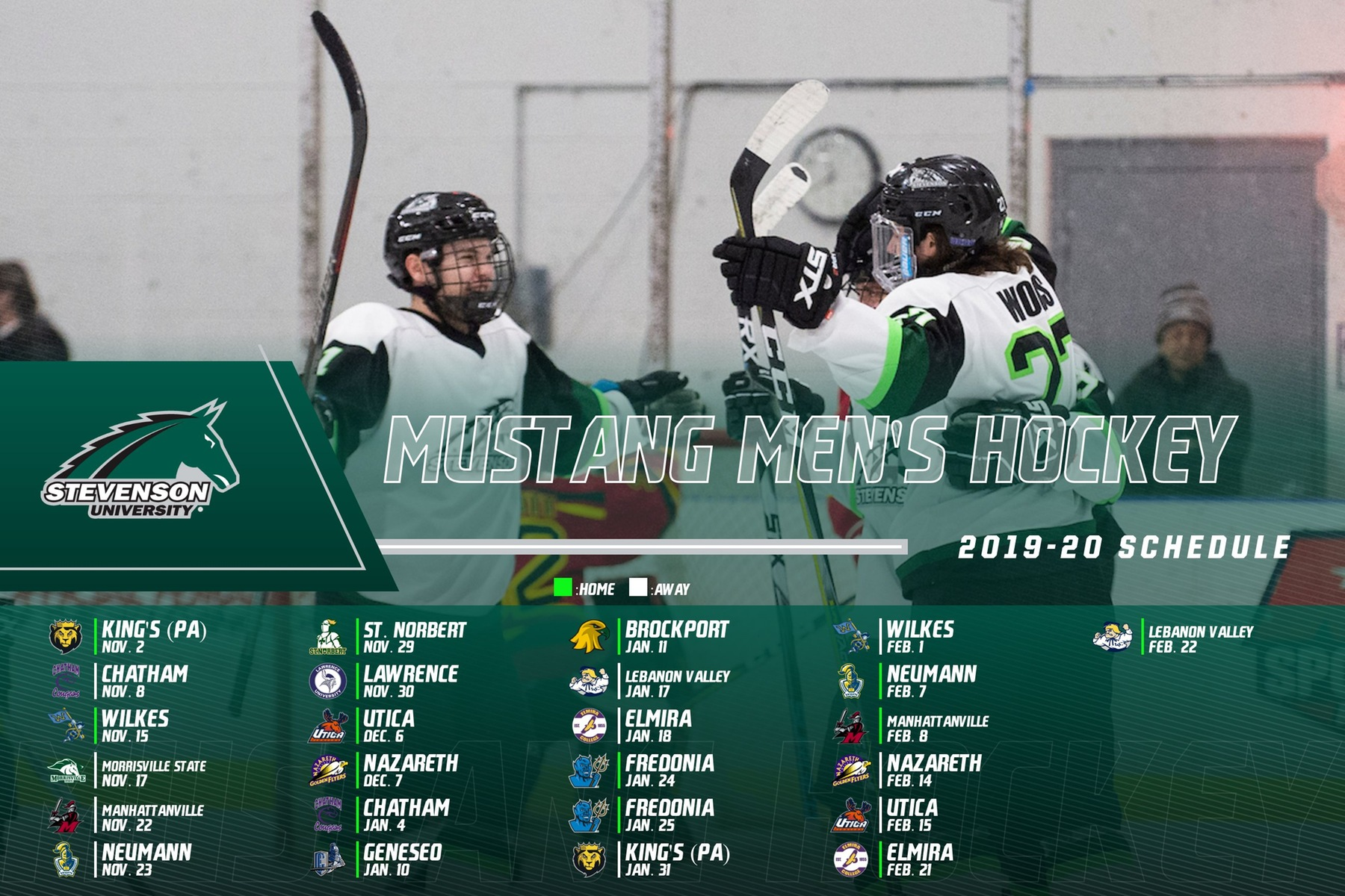 Men's Hockey Hits The Ice November 2