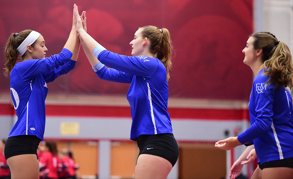 F&M Battles for Wins in Tri-Match