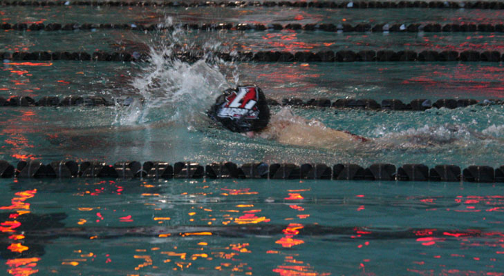 Swim teams host own Panther Invitational meet