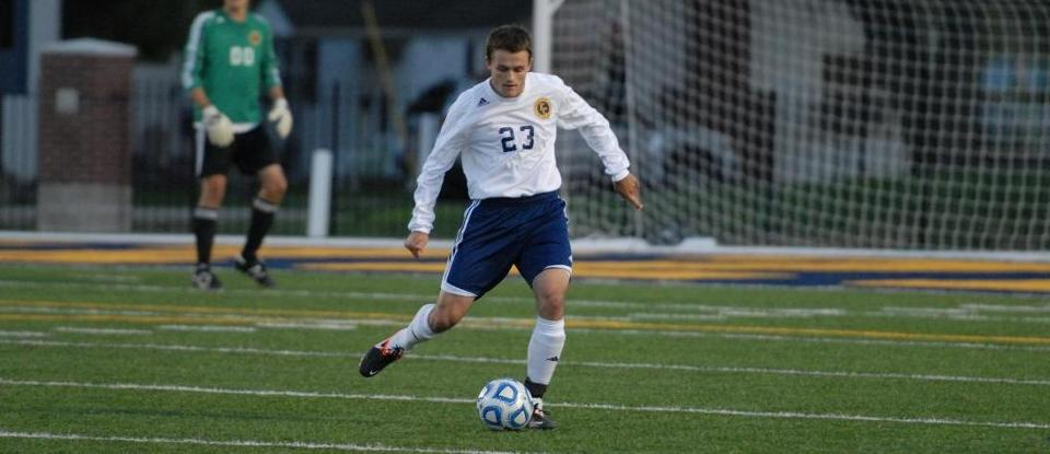 Men's Soccer Shuts Out Manchester 2-0
