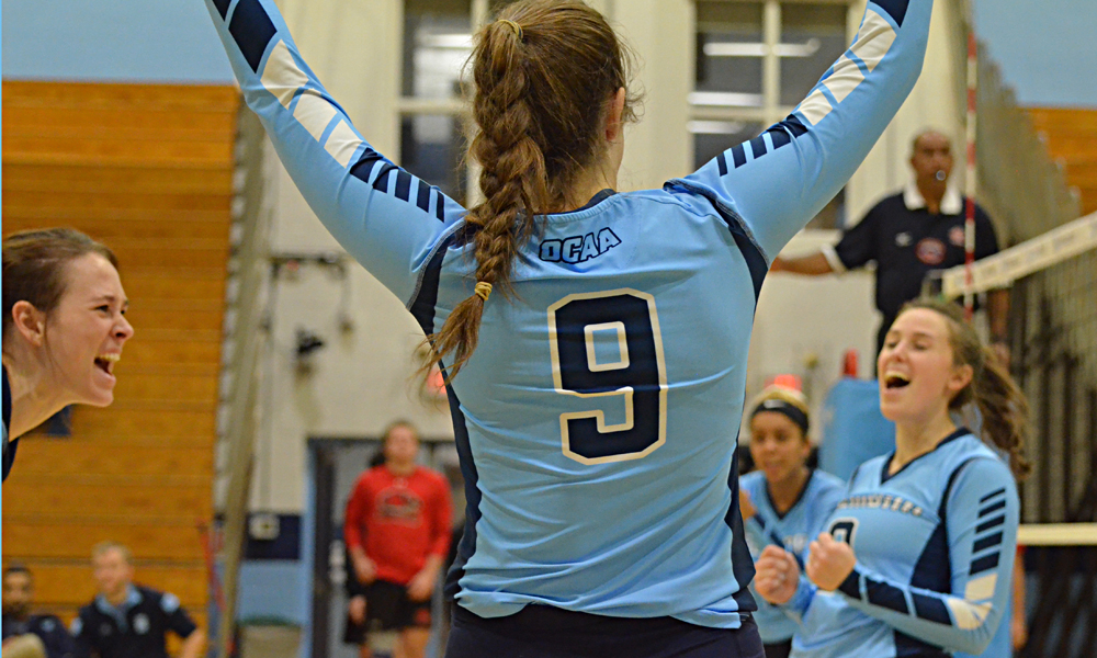 Women's volleyball have 3-match winning streak snapped