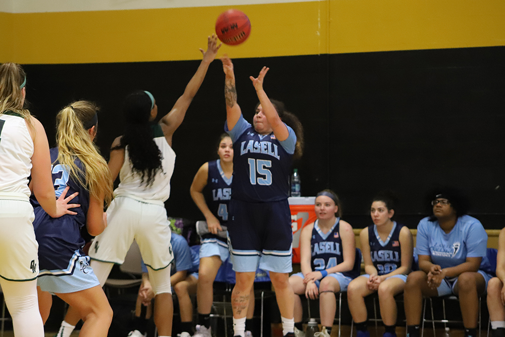 Lasell Women's Basketball falls to Old Westbury in Tournament Finale