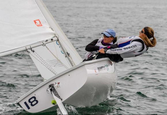 Coed Sailing Leads Western Semi-Final After Day One
