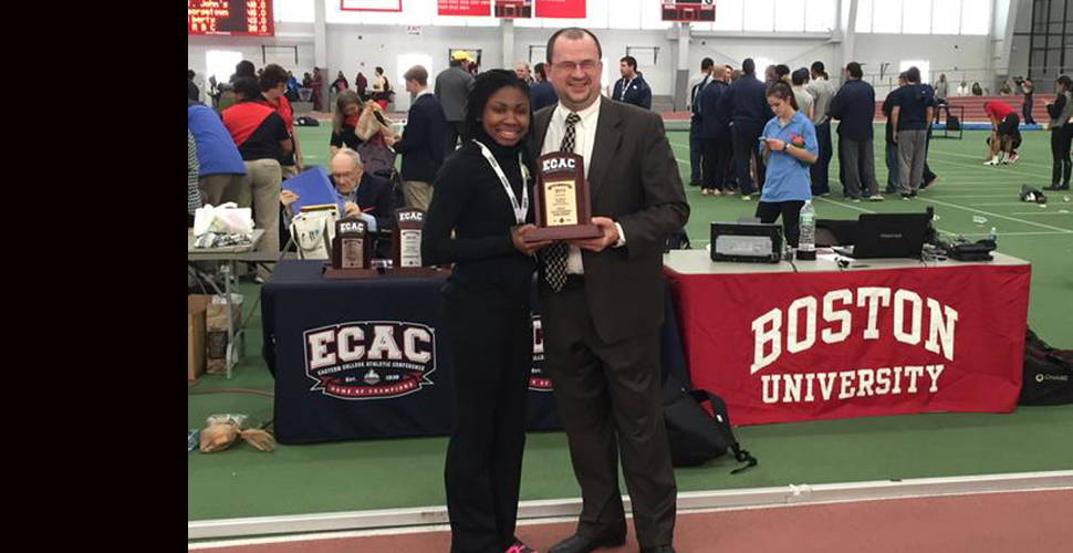 Jackson Leads the Field at ECAC Championships
