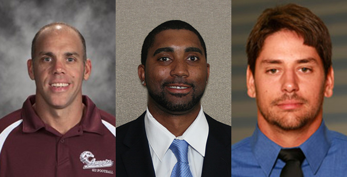 Football Adds Three Assistants to Complete Coaching Staff