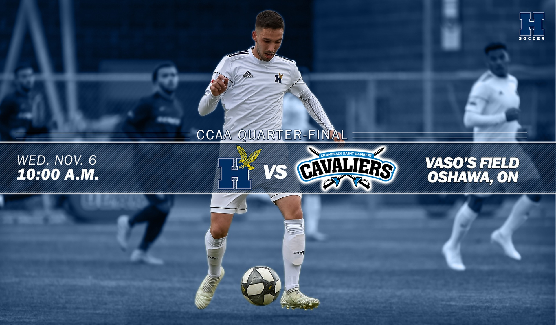 Title Defence Begins Wednesday for Men's Soccer
