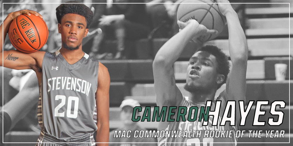 Cameron Hayes Named MAC Commonwealth Men's Basketball Rookie of the Year