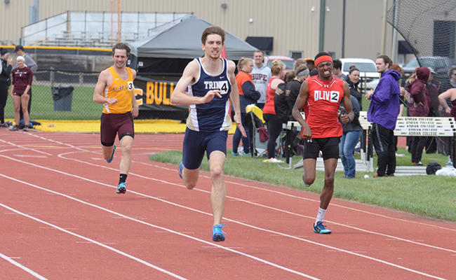 Men's Track Finishes Second at Otterbein Twilight