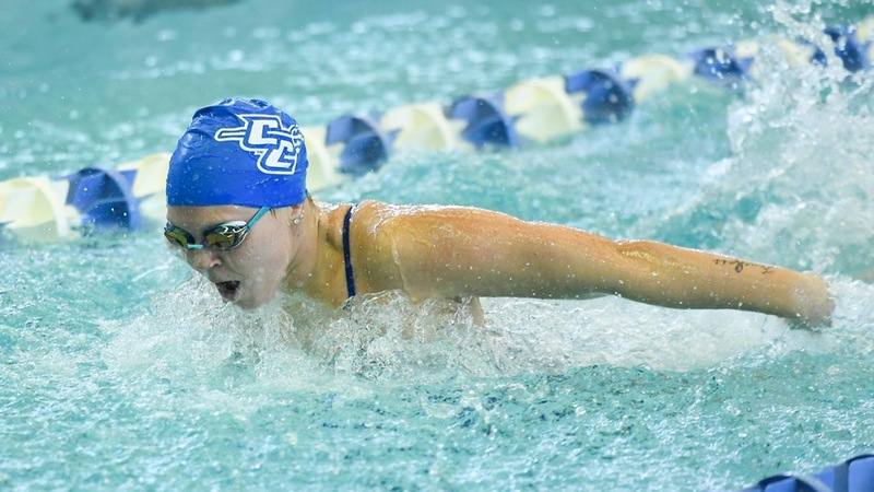 Swimming and Diving Opens NEC Championships on Wednesday Night