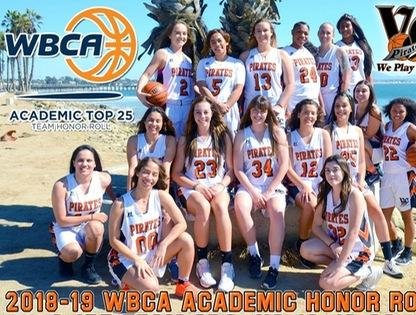 Ventura College women's basketball earns national academic honor