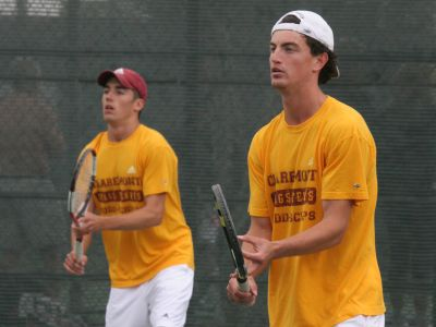 Men's Tennis Sweeps Friday Doubleheader