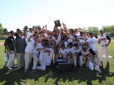 Offensive explosion leads CUA to third title in four years