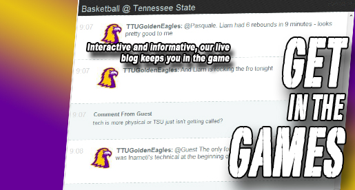 Athletics offers a fun, interactive way to follow Tech at the OVC Tournament