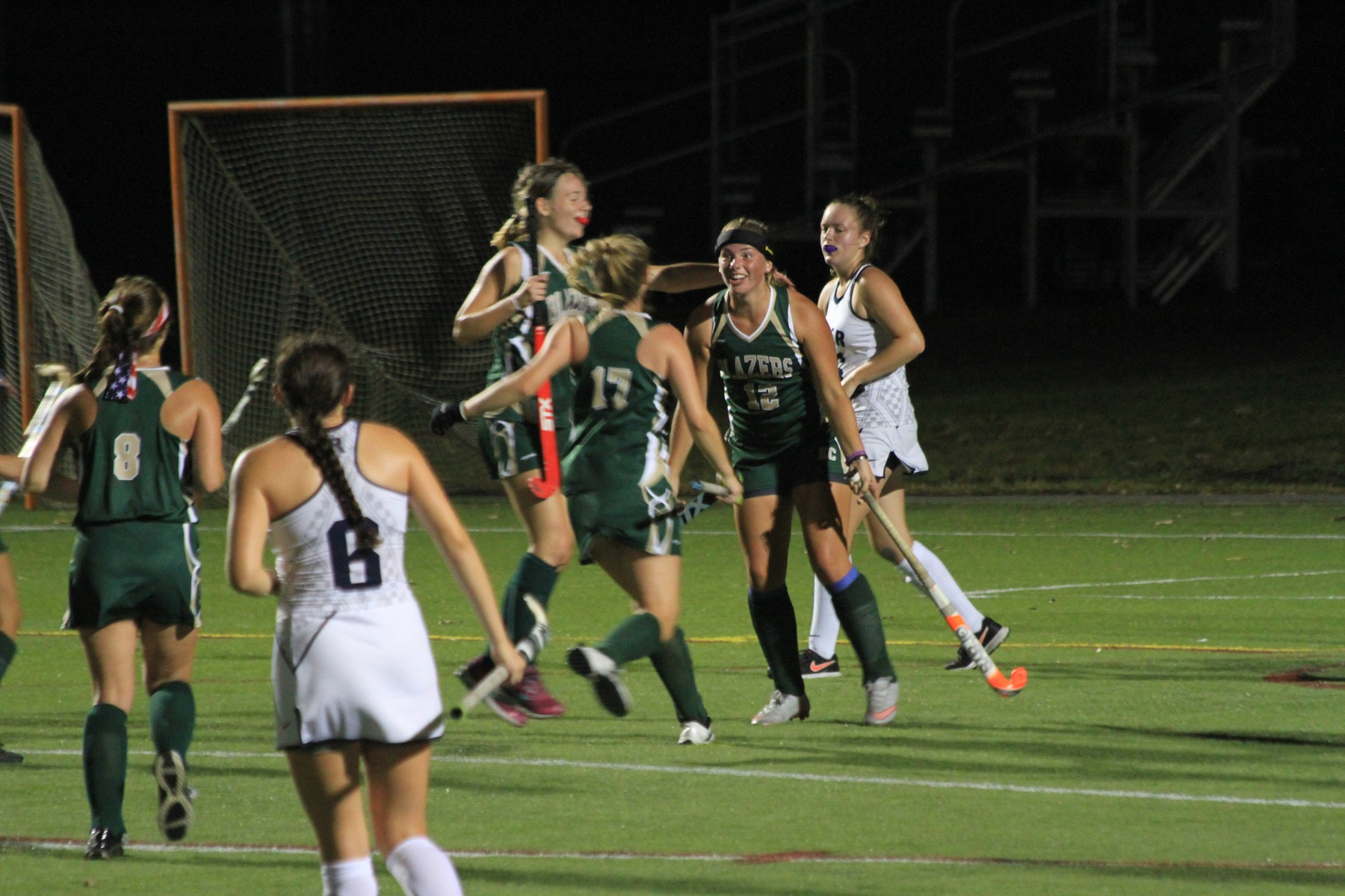 Field Hockey Defeat Rivier For First Win