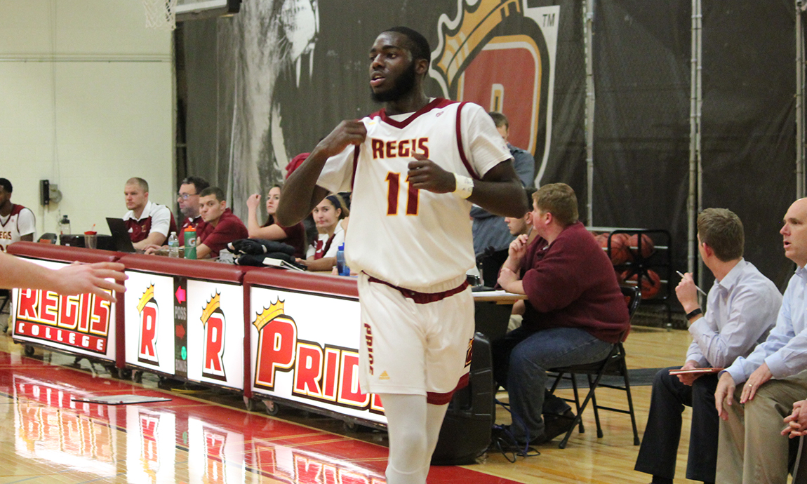 Afonja Reaches 1000-Point Plateau in Men's Hoop Home Opener