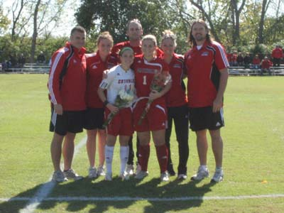 CUA falls to Scranton 1-0 on Senior Day
