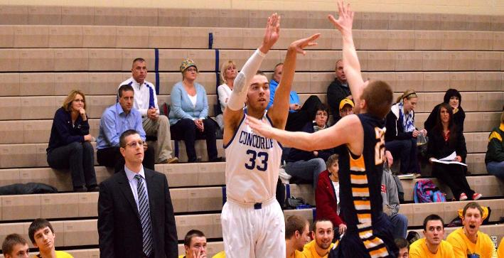 Men's Basketball season ends in NACC Tournament quarterfinals