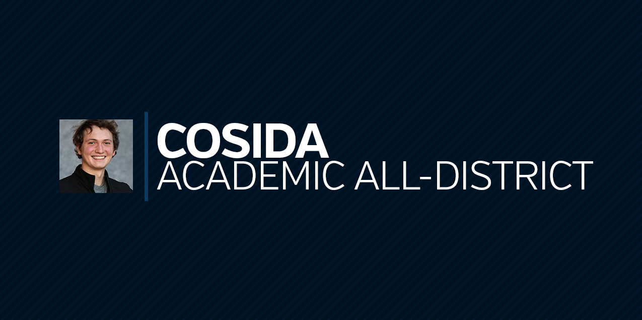 Colorado Colleges' Sarris Earns CoSIDA Academic All-District Recognition