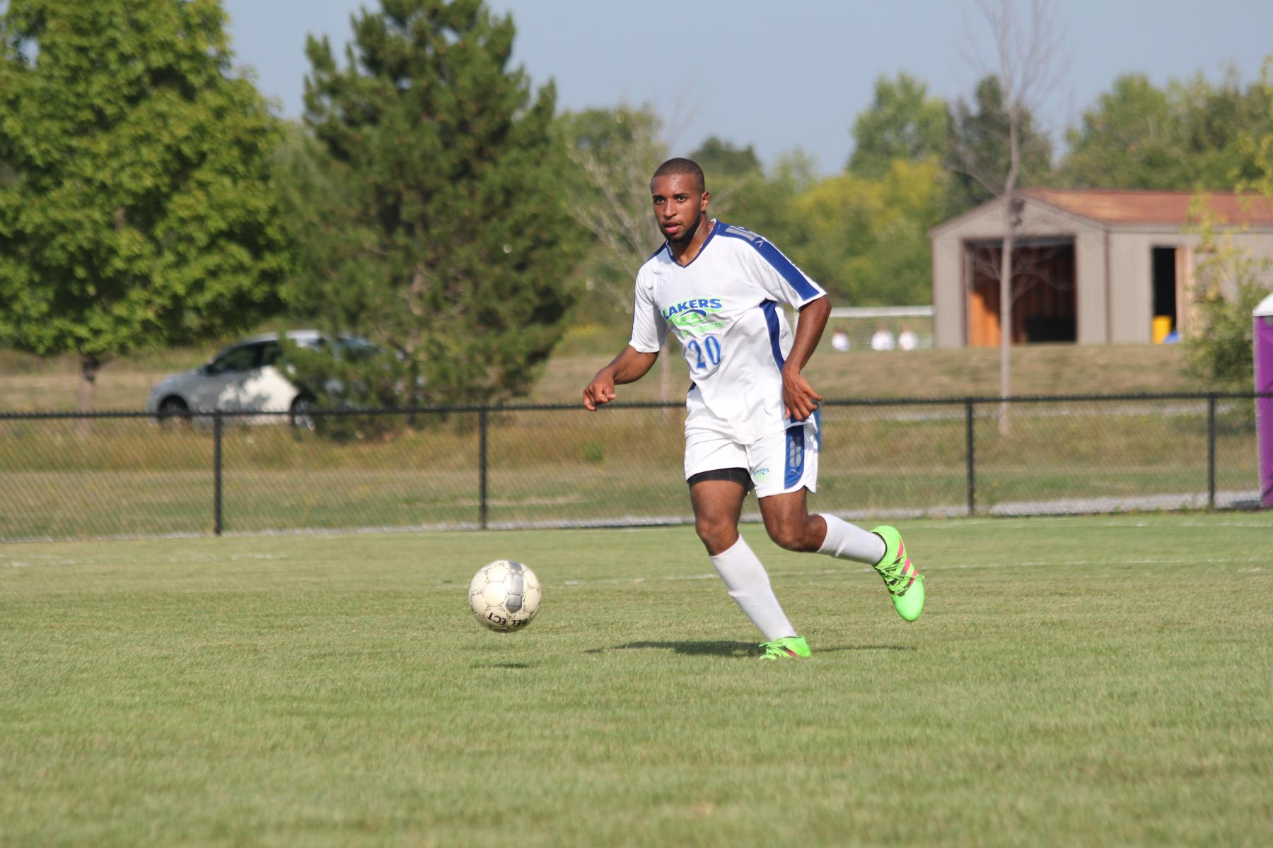 Men's Soccer Falls to Hawks