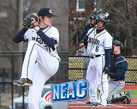 Gallaudet sweeps NEAC Baseball Student-Athlete of the Week awards, Barksdale and Holsworth honored